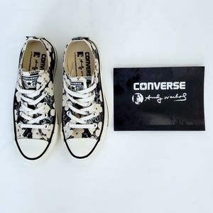 Converse Rare Andy Warhol Flowers Unisex All Star